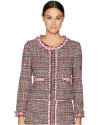 Boutique Moschino - Tweed Jacket - Lyst