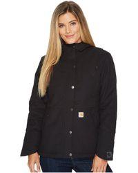 Carhartt - Full Swing Cryder Jacket (black) Women's Coat - Lyst