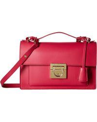 66c430d9b161 Lyst - Ferragamo Aileen - Women s Ferragamo Aileen Bags