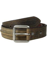Ariat - Center Seam Belt (brown) Men's Belts - Lyst