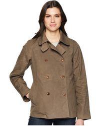 Filson - Whitmarsh Trench (olive/gray) Women's Coat - Lyst