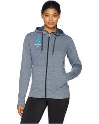 Brooks - Usa Games Event Hoodie (heather Asphalt) Women's Sweatshirt - Lyst