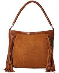 Scully - Brianne Fringe Purse (brown) Handbags - Lyst