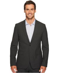 Calvin Klein | Slim Fit Two-button Notch Lapel End On End Bi-stretch Infinite Style Jacket | Lyst