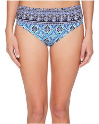 Tommy Bahama - Tika Tiles High-waist Sash Bikini Bottom - Lyst