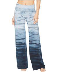 Hard Tail - Contour Rolldown Wide Leg Pants (black) Women's Clothing - Lyst