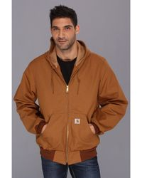 Carhartt - Thermal Lined Duck Active Jacket - Lyst