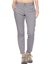 Mountain Khakis - Sadie Skinny Chino Pants (black) Women's Casual Pants - Lyst
