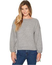 Lanston - Drawstring Sleeve Pullover Top - Lyst