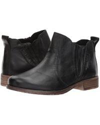 Josef Seibel - Sienna 45 (black) Women's Pull-on Boots - Lyst