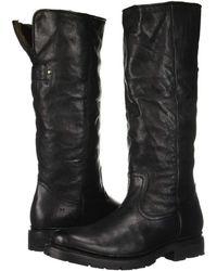 Frye - Vanessa Pull-on (black) Women's Boots - Lyst