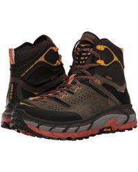 Hoka One One - Tor Ultra Hi Wp (black Olive/autumn Gaze) Men's Running Shoes - Lyst