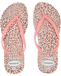 a42f48b045a0 Havaianas - Slim Animals Flip Flops (beige rose Gold 2) Women s Sandals -