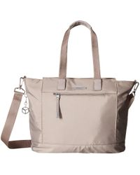 Hedgren - Glaze Rfid Large Tote (zinc) Tote Handbags - Lyst