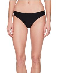 Nike - Ribbed Bikini Bottom (black) Women's Swimwear - Lyst