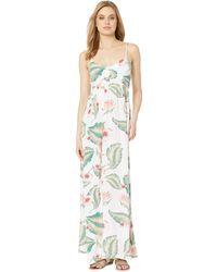 4d995ec0afc01 Roxy - Brilliant Stars Maxi Dress (marshmallow Tropical Love) Women's Dress  - Lyst