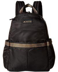 adidas - Vfa Backpack (black/gold Leurex) Backpack Bags - Lyst