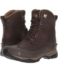 The North Face - Chilkat Evo (tnf Black/rudy Red) Men's Lace-up Boots - Lyst