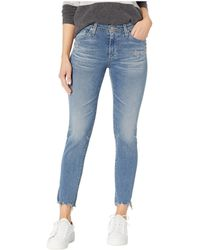 AG Jeans - Prima Crop In 23 Years Limelight (23 Years Limelight) Women's Jeans - Lyst
