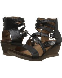 Miz Mooz - Shay (pebble) Women's Wedge Shoes - Lyst
