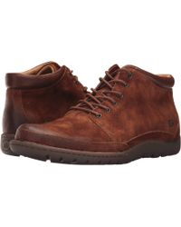 Born - Nigel Boot (brown/dark Brown Combo) Men's Lace-up Boots - Lyst