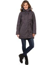 The North Face - Crestmont Parka (urban Navy Slub (prior Season)) Women's Coat - Lyst