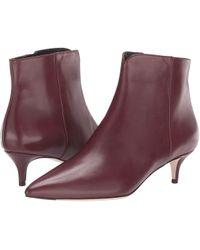 8b498857ea7 Cole Haan - Vesta Bootie (cordovan Leather) Women s Boots - Lyst