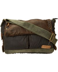 Bed Stu - Hawkeye Messenger Bag (oil Slick) Messenger Bags - Lyst
