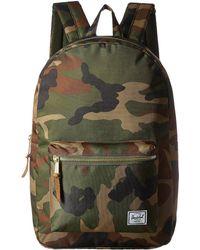 Herschel Supply Co. - Settlement (dark Chambray Crosshatch) Backpack Bags -  Lyst 19defbcd9b83c