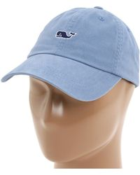 80296fc7377 Lyst - Vineyard Vines  flag Whale Logo  Baseball Cap in Blue for Men