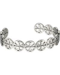 Tory Burch - Logo Cuff Bracelet (tory Gold) Bracelet - Lyst