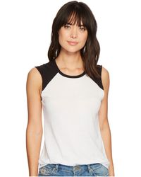 Alternative Apparel - Vintage Jersey Team Player Tee (white/navy) Women's T Shirt - Lyst