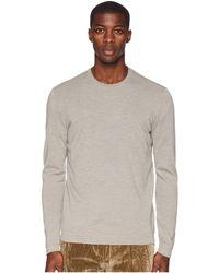 John Varvatos - Long Sleeve Crew Neck With Contrast Y2096u3 (oat) Men's Sweater - Lyst