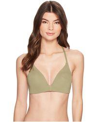 Vince Camuto - Riviera Solids Molded Bikini Top W/ Soft Cups (avocado) Women's Swimwear - Lyst