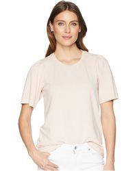 Lucky Brand - Puff Sleeve Sweatshirt (heather Grey) Women's Sweatshirt - Lyst