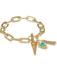 Rebecca Minkoff - Perfect Chain Charm Bracelet (gold) Bracelet - Lyst