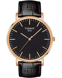 Tissot - Everytime Large - T1096103605100 (black/black) Watches - Lyst