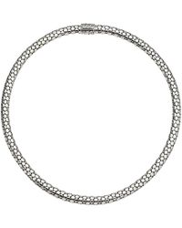 John Hardy - Dot Small Chain Necklace With Pusher Clasp (silver) Necklace - Lyst