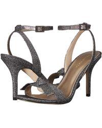 3ef94b30382 Pelle Moda - Kim2 (platinum Gold Metallic Textile) Women s Dress Sandals -  Lyst
