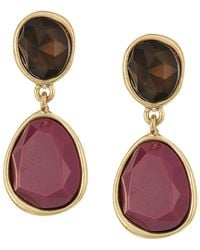 The Sak - Double Stone Clip Earrings - Lyst