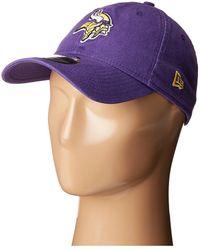 KTZ - Minnesota Vikings 9twenty Core (purple) Baseball Caps - Lyst 05efeed3b