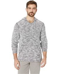 Tommy Bahama - Pacific Flip Baja Pullover (fog Grey Heather) Men's Clothing - Lyst