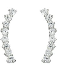 Vince Camuto - Cubic Zirconia Thin Stud Earrings (gold) Earring - Lyst