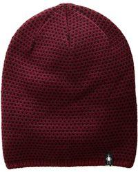 Smartwool - Diamond Cascade Hat (tibetan Red) Beanies - Lyst