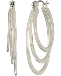 Robert Lee Morris - Multi Circle Hoop Earrings - Lyst