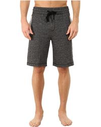 2xist - 2(x)ist Athleisure - Active Core Terry Shorts (black Heather) Men's Shorts - Lyst
