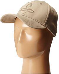 Prana - Zion Ball Cap (dark Khaki) Baseball Caps - Lyst