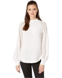 Free People - Sweetest Thing Thermal Top (black) Women's Clothing - Lyst