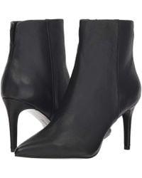Steven by Steve Madden - Leila (black Leather) Women's Shoes - Lyst