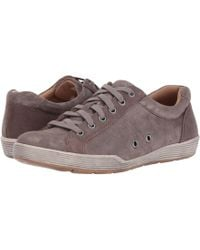 Comfortiva - Lyons (smoke Distressed Foil Suede) Women's Shoes - Lyst